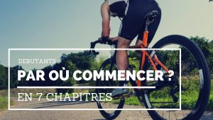 Cyclistes débutants conseils