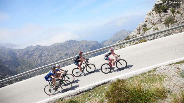 Stage d'entrainement cyclisme