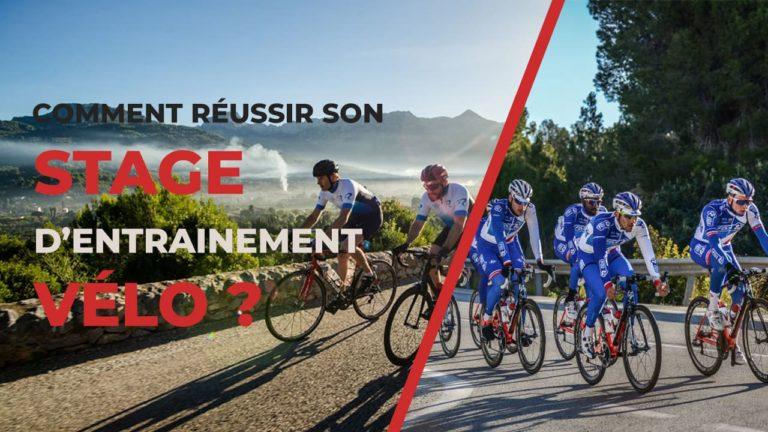 Stage entrainement velo cyclisme